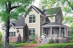 Plan de maison no. W2884 de dessinsdrummond.com