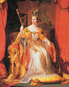 La solemne ceremonia de su coronación tuvo lugar en la abadía de Westminster el 28 de junio de 1838.