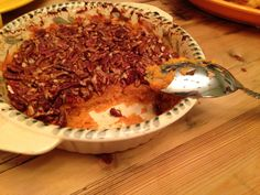 Sweet Potato Casserole // Healthy Thanksgiving Side Dish Recipes