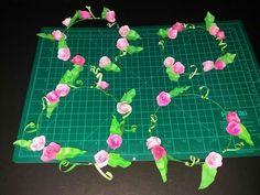 Mhaulikhiels creations party ideas Paper flowerettes head dress