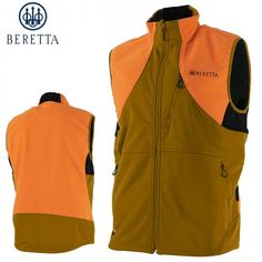 b056c1794f135 Beretta Soft Shell Fleece Vest (3X)- Light Brown/Orange Hunting Jackets,