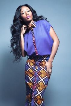 Brand:Ohema Ohene Designer:Abenaa Pokuaa S/S 2014 Collection cutfromadiffcloth.tumblr.com