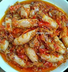 Resep Sambal Bawang Cumi Asin By Seafood Dishes, Seafood Recipes, Dinner Recipes, Cooking Recipes, Sambal Recipe, Indonesian Cuisine, Diy Food, No Cook Meals, Asian Recipes