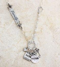 Forever Blessed/Family Necklace by Nelle and Lizzy just ordered it!!! Love it
