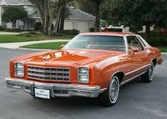 1977 Monte Carlo, last year of the greats ♥ my second car - what a gem!