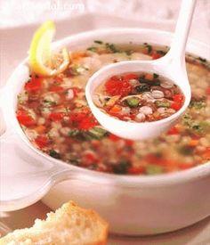 Nourishing Barley Soup recipe- Thrive re-make idea Vegetarian Recipes Easy, Diabetic Recipes, Indian Food Recipes, Healthy Recipes, Diabetic Cake, Pre Diabetic, Diabetic Foods, Vegetable Recipes, Easy Recipes