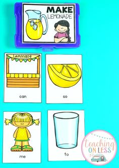 Kindergarten sight word games and activities. Introducing sight words to preschool, kindergarten, or first grade can be a challenge. Teaching with these printables will make your instruction epic and better than flashcards. Sight Words List, Sight Word Games, Kindergarten Activities, Kindergarten Classroom, Classroom Activities, Language Arts Worksheets, Phonics Games, Teacher Organization, Classroom Fun