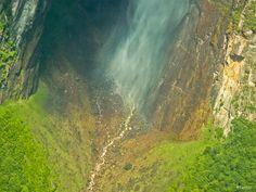 Venazuela, Angel Falls. Photo: Letty Visser. www.letsart.nl