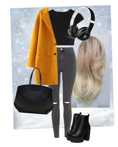 """""""Untitled #126"""" by kidrauhleer on Polyvore featuring Topshop, Alice + Olivia, Zara and Beats by Dr. Dre"""