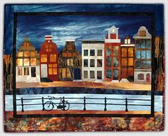 Marjan Kluepfel: Fabric Artist-Quilt Teacher - Landscapes Gallery