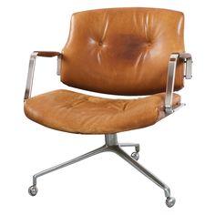 My dream office chair - vintage Preben Fabricius and Jorgen Kastholm at around $5,000