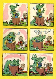 Walt Kelly's POGO Comic. We have met the enemy and he is us.
