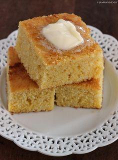Jam Hands: Sweet Buttermilk Cornbread