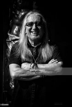 Mick Box of Uriah Heep poses ahead of the band's concert at Koko on March 4, 2014 in London, United Kingdom.