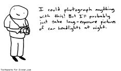 Comic by Toothpaste For Dinner: i could photograph anything