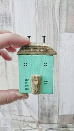 Little House Wooden House Driftwood Art Driftwood House