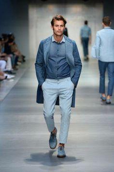 #Scervino #Style #Menfashion #Summer #Spring2014 #Styling blue #howtowear
