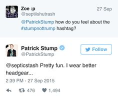 more stump and wentz less trump and pence fall out boy for president 2016
