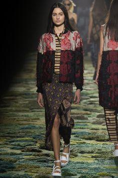 visual optimism; fashion editorials, shows, campaigns & more!: dries van noten s/s 2015 paris