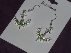 Beautiful ANCHOR Earrings* Free and Fast Shipping $4.99
