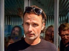 Andrew Lincoln... holy f***!! Am I the only one swooning here?