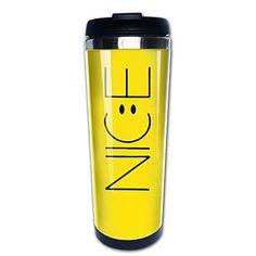 bigkin Nice Emoji Smile Edelstahl Becher/Kaffee Tasse Thermos & Isolierflasche