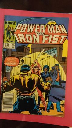 Power Man and Iron Fist #122 Mar 85
