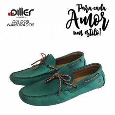 Mocassim Diller Shoes - Se você gosta de ousar em seu look experimente usar esse mocassim Diller Shoes e surpreenda com o resultado. 😉