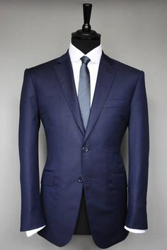 Bespoke Tailoring - Saville Row London. The best in the world - This suit by David Stevens - Fusion Tailoring