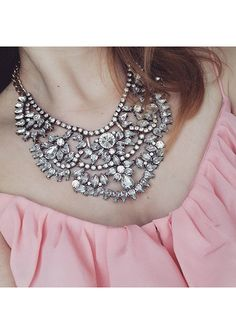 Love Story Statement Necklace