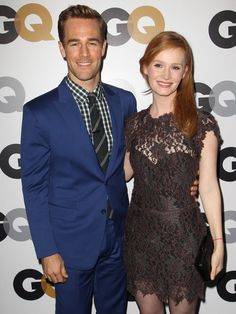 James van Der Beek and Kimberly Brook at the #GQ Men Of The Year Party at #ChateauMarmont on November 13, 2012 in Los Angeles.  http://celebhotspots.com/hotspot/?hotspotid=23421&next=1