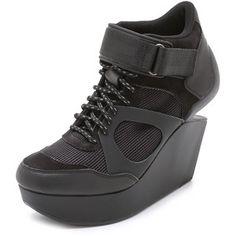 Puma Mcq Leap Lo Wedge Sneakers - Black