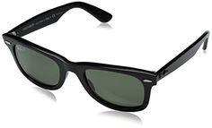Ray-Ban Unisex RB2140 Original Wayfarer Sunglasses ,50,Black (901/58)  Price…