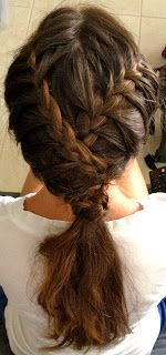Making Life Happen.: Criss-Crossed French Braids