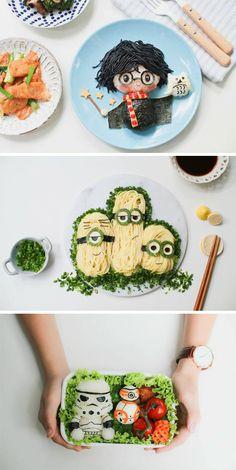 Creative food is amazing