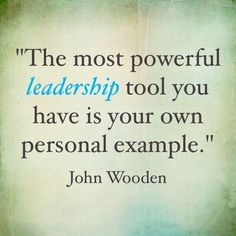 QUOTE OF THE DAY: Most Powerful Leadership