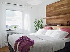 кровать с деревянным изголовьем - Поиск в Google