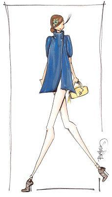fashionillustr.quenalbertini: Brittany Fuson 20.01.2010
