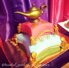 arabian nights sweet 16 | Arabian Nights Themed Cake