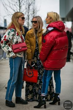 New York Fashion Week Fall 2017 Street Style: Annabel Rosendahl, Charlotte Groeneveld and Caroline Daur