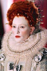 Elizabethan makeup/hair.