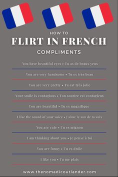 French Words Quotes, Basic French Words, How To Speak French, Learn French, Learn English, French Language Lessons, French Lessons, Useful French Phrases, French Conversation