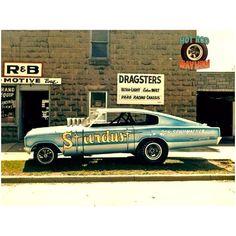 Don Schumacher's Stardust A/FX altered wheelbase funny