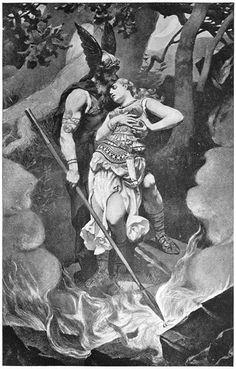 Norse Gods, Odin & Frigga~