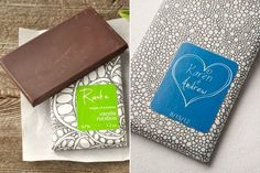 Chocolates with personalized wrappers