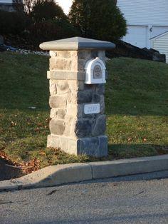 MAILBOXES STONE | stone mailbox