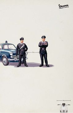 Cool Vespa and Cops FB Timeline Cover