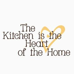 FiresideHome The Kitchen is the Heart of the Home Wall Decal Color: Chocolate/Cream