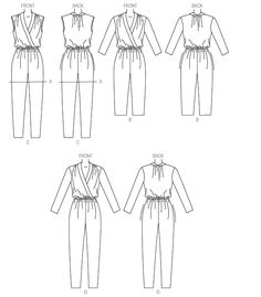Pattern Reviews> McCall's> 7099 (Misses' Romper and Jumpsuit)