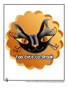 Halloween T-Shirts - Too Cute to Spook Halloween Art, Sewing Projects, Iron, Printables, Autumn, Friends, Cute, Crafts, Shirts